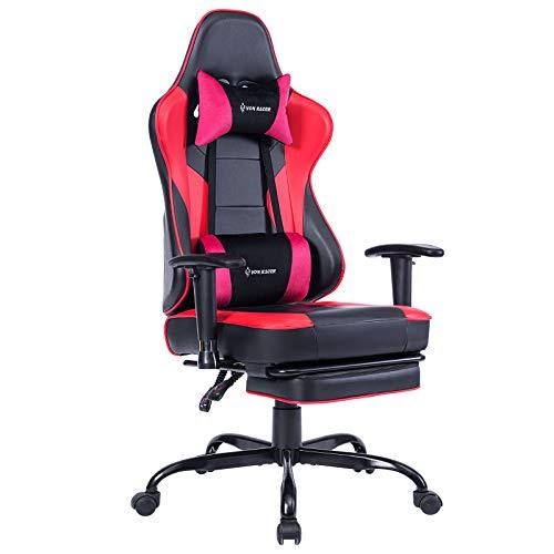 VON RACER Massage Gaming Chair Racing Office Chair - Adjustable Massage...