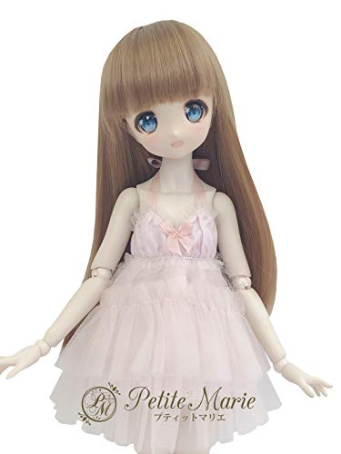Petite Marie Japan for 1/4 Doll 16 inch 40cm MDD (Mini Dollfie Dream) MSD BJD Cute and Fluffy Tulle Dress (Pink) [No.0071] Clothes Only not Include Doll