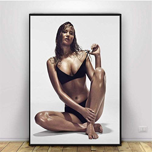 Amokr Print on canvas 15.7'x23.6' no frame Jennifer Bikini Hot Sexy Posters And Prints Wall Pictures For Living Room Decorative Home Decor