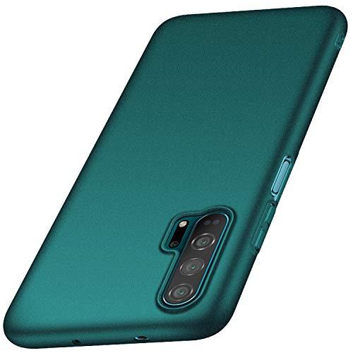 Anccer Kompatibel mit Huawei Honor 20 Pro Hülle, [Serie Matte] Elastische Schockabsorption & Ultra Thin Design für Huawei Honor 20 Pro (Kies Grün)