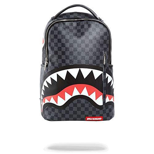 Sprayground Grey Side Sharks In Paris Backpack 910B2804NSZ