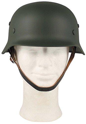MFH Stahlhelm 2. Weltkrieg WW II Helm Weltkriegshelm BW Helm verschiedene Farben (Oliv)
