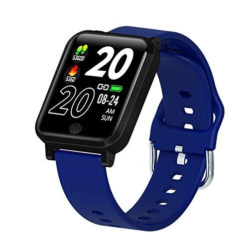 BFL F29 Pulsera Inteligente Monitor De Temperatura 1.3 Pulgadas Sports Smart Watch Tasa del Corazón Presión Arterial Monitoreo del Sueño Podómetro Reloj Despertador,A
