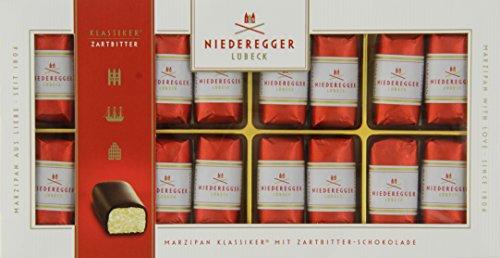 Photo of Niederegger Classic Dark Chocolate Marzipan Mini Loaves 200 g