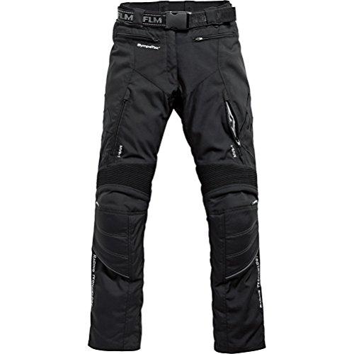 FLM Motorradhose Sports Damen Textilhose 2.0 schwarz 40, Sportler, Ganzjährig