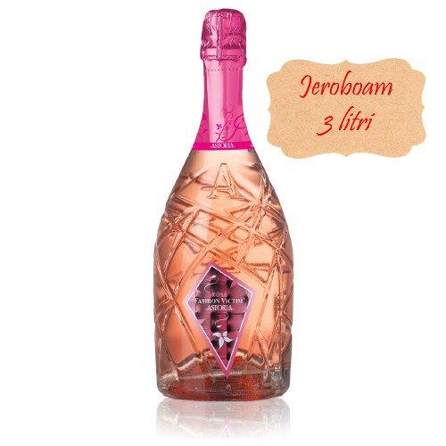 Vino Espumoso Fashion Victim Astoria Lounge Rosè Vino Espumoso Italiano (Jeroboam 3 litros)