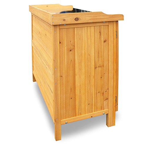 Habau 3106 Gartentisch mit Unterschrank, 98 x 48 x 95 cm - 2