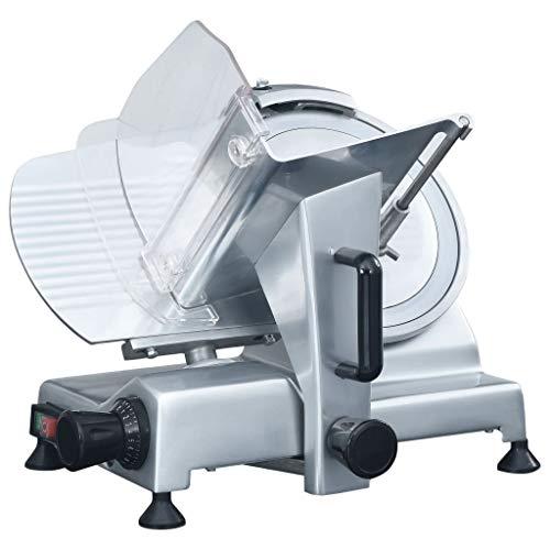 Festnight Profi Allesschneider 220 mm Gastro Aufschnittmaschine Wurstschneidemaschine Brotschneidermaschine Fleischschneider Wurstschneider