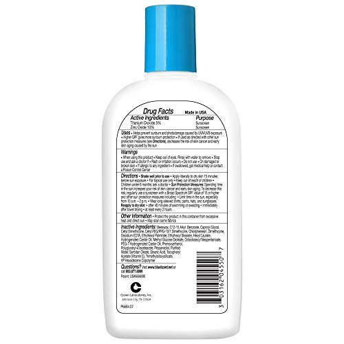 Blue Lizard Sensitive Mineral Sunscreen - No Chemical Actives - SPF 30+ UVA/UVB Protection, 8.75 Fl Oz