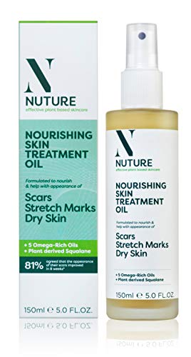 Nuture Nourishing Skin Treatment Oil 150ml   Improves the appearance of scars, stretchmarks & dry skin