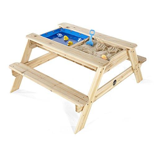 Plum Surfside Holztisch mit Sandkasten und Wasserbecken