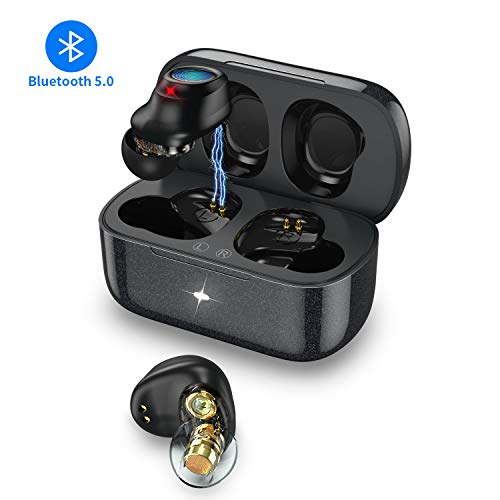 [Venta de liquidación] Bluetooth 5.0 Auriculares Inalámbricos Hi-Fi Sonido Estéreo Impermeables…