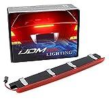 iJDMTOY OEM-Spec Red Lens Full LED Trunk Lid Third Brake Light Bar Assembly...