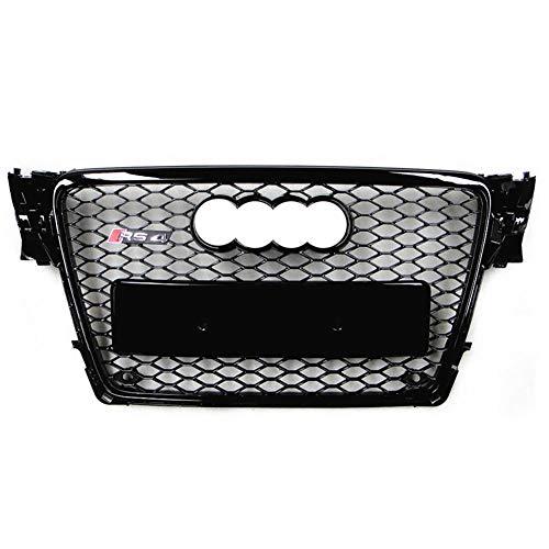 Xinshuo ABS Wabenart Mesh Kühlergrill vorne für RS4 Style A4 / S4 B8 2009-2012