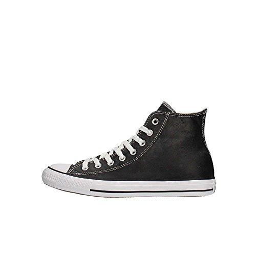 Converse 132170C, Sneaker a Collo Alto Unisex-Adulto, Nero Schwarz, 43 EU