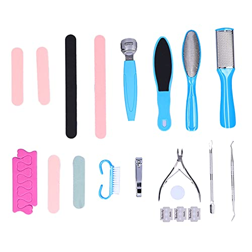 needlid Removedor de uñas, cortaúñas Suave Lavable para removedor de Piel Muerta para la mayoría de Las Personas