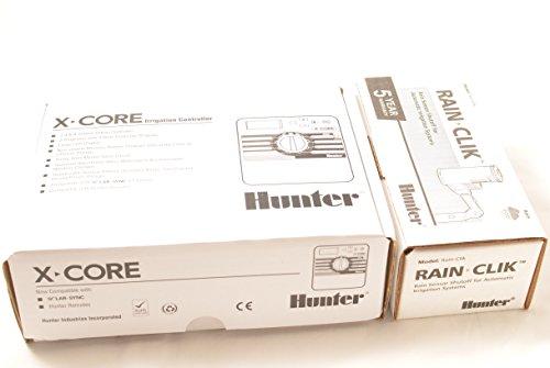 Hunter X-Core 601i + Rain Clik - Indoor Bewässerungssteuerung und Regensensor