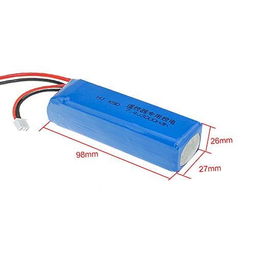 7.4V 3000mAh 8C Rechargeable 2S Lipo Battery for Frsky Taranis X9D Plus Radiolink Transmitter RC Toys Model