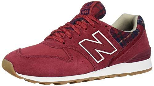 New Balance 996v2, Zapatillas Deportivas. para Mujer, NB Scarlet Black, 38 EU