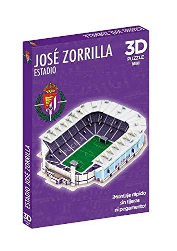 Eleven Force- Puzzle 3D Mini Estadio José Zorrilla (Real Valladolid) (12449)