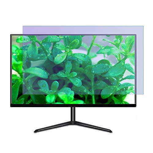SYEA antireflexfolie entspiegelt Anti-Blaulicht-Displayschutz, Elektrostatische Adsorption, Matt, Blendschutz, 16: 9 Seitenverhältnis(Size:26 in/57.5×32.3 cm)