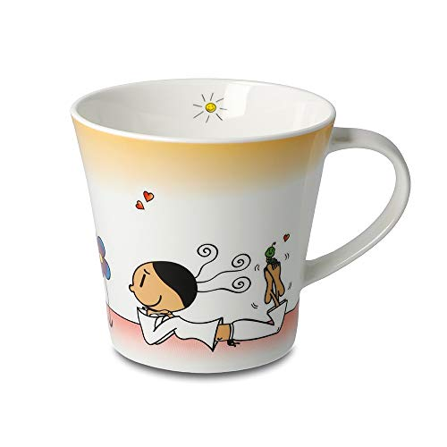 DER KLEINE YOGI: Kaffee-/Teetasse - Wundervoll - NEU