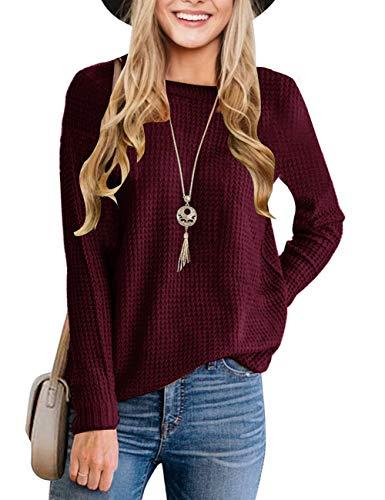 Maroon Sweaters Women's