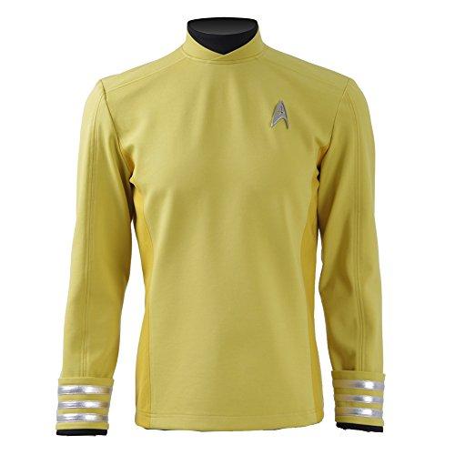 CosDaddy ® Beyond Gold Hemd Uniform Cosplay Kostüm US Size (L)