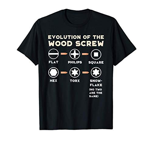Divertido regalo de carpintero de madera Camiseta