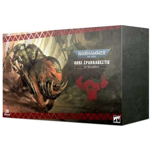 Games Workshop Orks – Orki Zpakkabeztie Set de Armada (Italia)