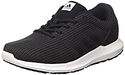 Adidas Men's Cosmic M Running Shoes, Black (Negbas / negbas / neguti), 43 1 / 3 EU
