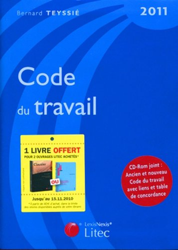 Code du travail 2011 (1Cédérom)