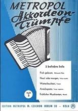KORDEON TRUEMPFE 3 - Arreglos para acordeón [partituras/partituras] Compositor: GerLACH HEINZ