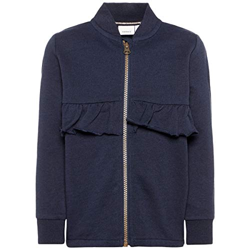 Name It Veste Sweat à ruchés Veste bébé vêtements bébé, Dark Sapphire