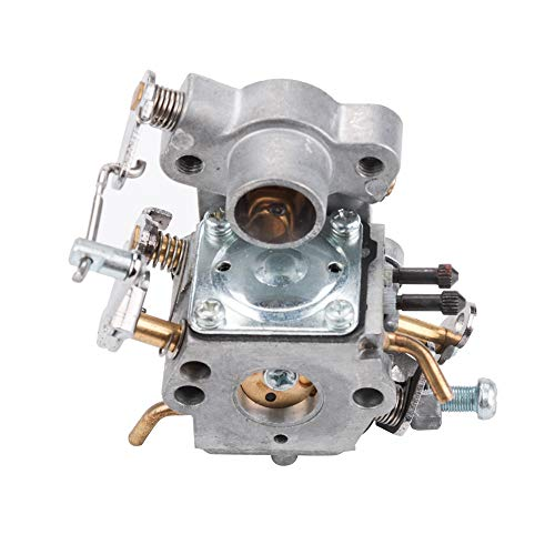 Kizut 545070601 C1M-W26C Carburetor for Poulan P3314 P3816 P3416 P4018 PP3416 PP3516 PP3816 PP4218 PPB3416 S1970 Chainsaw Parts Zama C1M-W26 Carb Air Filter Adjustment Tool Tune Up Kit