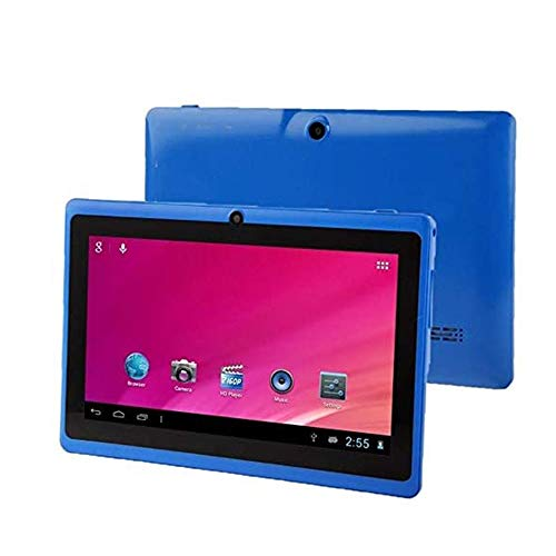 Grateful for everything Smart Tablet, 7.0 Inch Tablet, 1GB + 16GB, Android 4.0, Allwinner A33 Quad-core 1.5GHz, WiFi, Bluetooth, OTG, G Sensor(Color:blue)