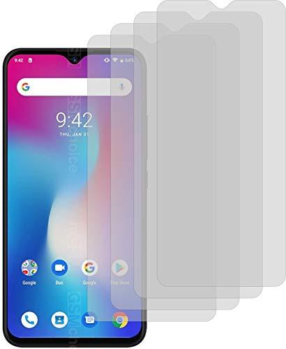4ProTec I 4X Crystal Clear klar Schutzfolie für Umidigi Power Bildschirmschutzfolie Displayschutzfolie Schutzhülle Bildschirmschutz Bildschirmfolie Folie