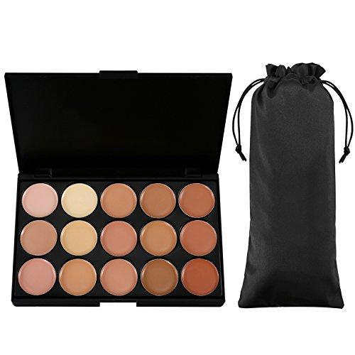 Vtrem 15 Couleurs Palette Correcteur De Teint Anti-Cernes Contour Palette Concealer Maquillage Professionnel