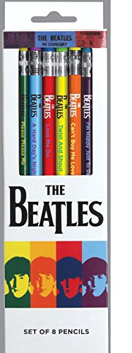 The Beatles 1964 Collection Pencil Set