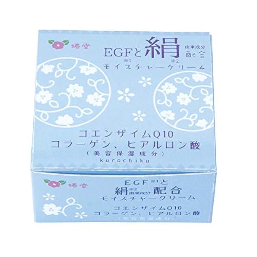 しなやか農場パーティー椿堂 絹モイスチャークリーム (FGFと絹) 京都くろちく