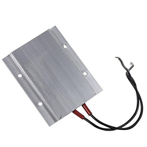 CHICIRIS Elemento Calefactor PTC, Placa calefactora PTC Duradera con Aislamiento de Superficie de Carcasa de Aluminio, Sala de Estar ecológica para el hogar, la Cocina, la(50W 80℃)