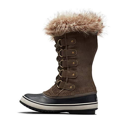 Sorel - Women's Joan of Arctic Waterproof Insulated Winter Boot, Major, Dark Stone, 8.5 M US