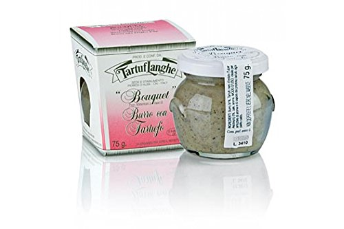 TARTUFLANGHE Trüffel-Butter-Zubereitung, mit Sommertrüffel, 75g