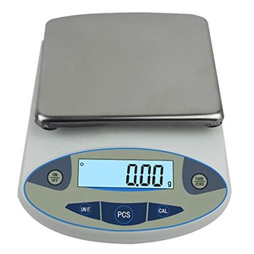 Digitale weegschaal LCD roestvrij staal hoge precisie tara functie voor sieraden laboratorium wegen multifunctioneel 30 kg g/0,1 g
