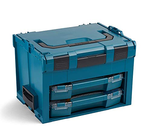 Bosch Sortimo LS BOXX 306 | Professioneller Werkzeugkoffer leer inkl. i-BOXX 72 H3 & i-BOXX 72 I3 | Limited Edition | Werkzeugkiste leer Kunststoff