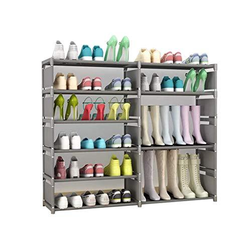 Support à chaussures Banc de rangement debout Chaussures Organisateur Cabinet Couverture en tissu non tissé Étagères empilables pour le couloir (taille : C3)