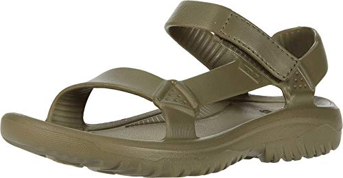 Teva Women's W Hurricane Drift Sport Sandal, burnt olive, 10 Medium US