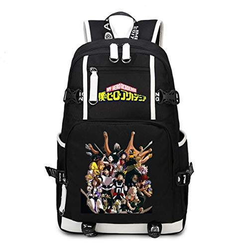 Araonstorm My Hero Academia Anime Boku no Hero Academia Cosplay Mochila niños mochila escolar bolsa de viaje regalo bolso