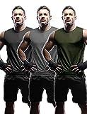 Herren Tank Top Ärmelloser Muskelshirt Workout Sport Fitness Hoodie Unterhemden O-Neck