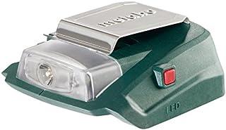 Metabo Batteridriven strömadapter PA 14,4-18 LED-USB (600288000) kartong; med 12 V-anslutning och LED-ljus, batterispännin...